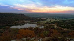 Sunset_LakeMcIntire